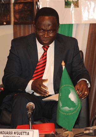 René Kouassi N'GUETTIA Directeur des affaires économiques de l'Union africaine Un panafricain convaincu et convaincant... sans lequel aucun Congrès des Economistes n'aurait eu lieu...