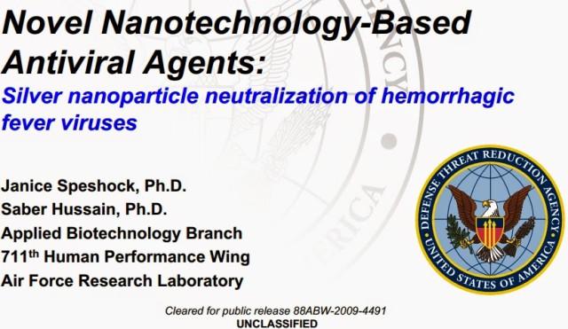 nano-Argent Ebola