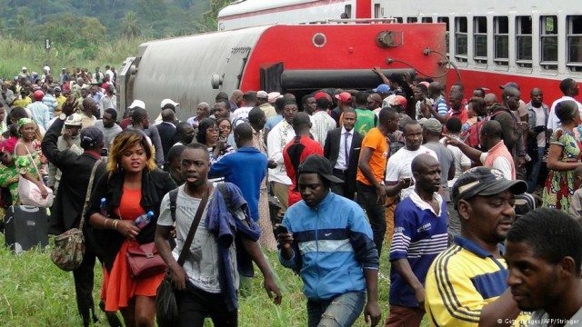 Kamerun Zugunglück 21.10.16 (Getty Images/AFP/Stringer)