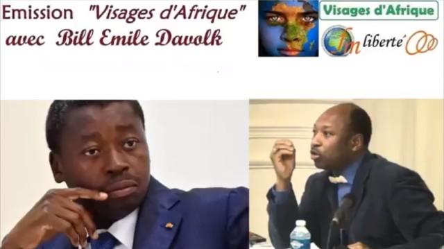 Faure Gnassinbé et Yves Ekoué Amaïzo
