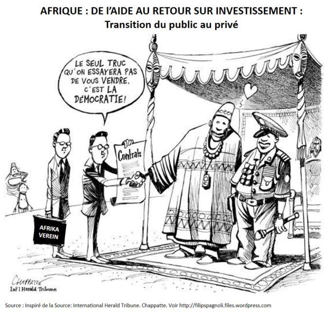 AFRIQUE - DE l'AIDE AU RETOUR SUR INVESTISSEMENT