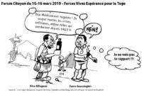 L'URGENCE D'UN PROJET DE SOCIÉTÉ COMMUN DU PEUPLE TOGOLAIS : Engagement, remobilisation et solution pacifique
